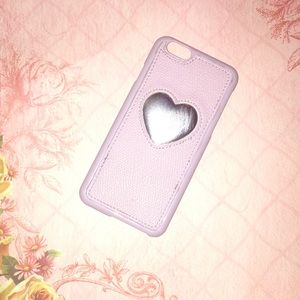 """IPHONE 6 4'7"""" gold rose heart phone case."""
